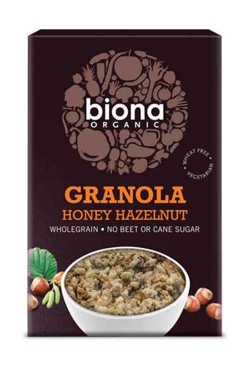 Granola de miel y avellanas - Biona