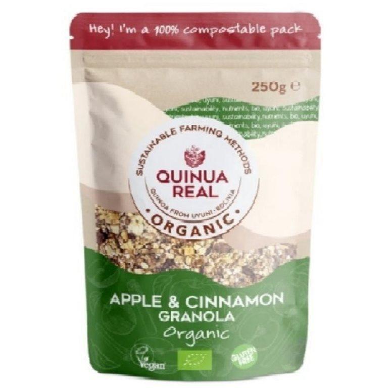 Granola de Quinua Real con Manzana y Canela Sin Gluten Bio 360g