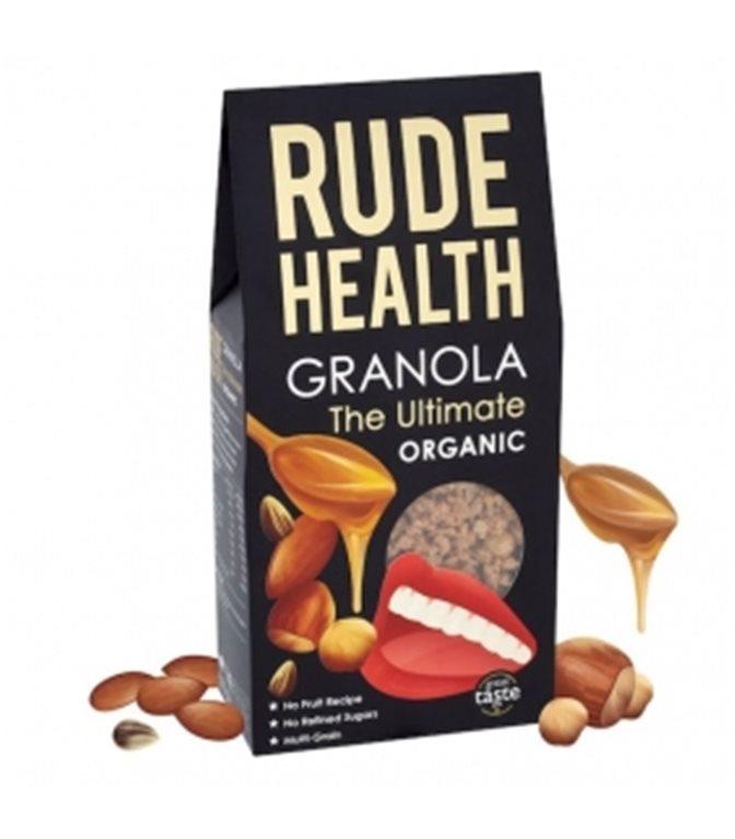 """Granola """"The Ultimate"""" BIO 400gr. Rude Health. 6 pcs"""
