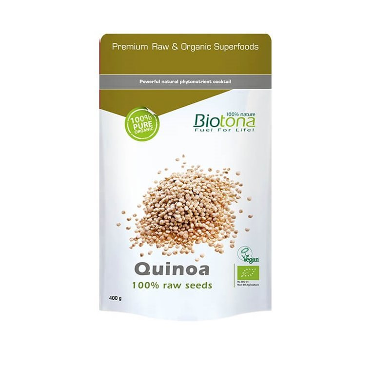 Granos Quinoa raw, 300 gr
