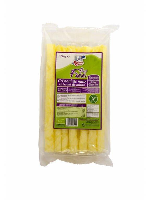 Grissoni de maíz, 100 gr