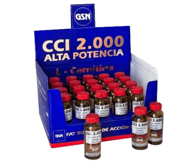 GSN CCI 2.000 L-Carnitine Choline Inositol (30ml.Und )