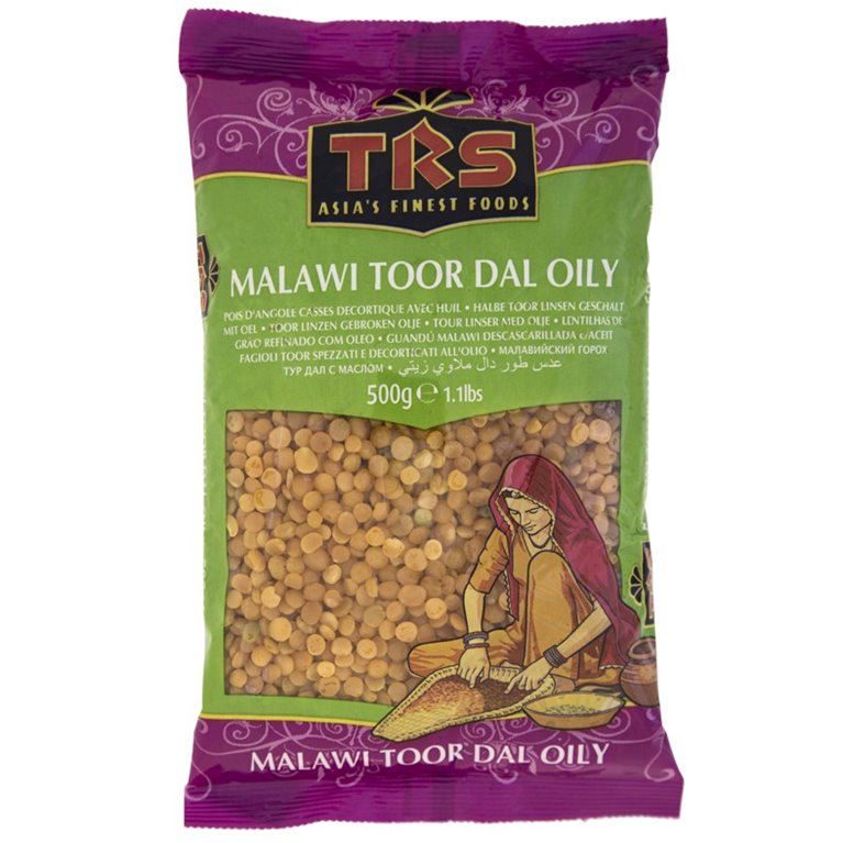 Guandú Malawi Descascarillado (Malawi Toor Dal Oly) 500g, 1 ud