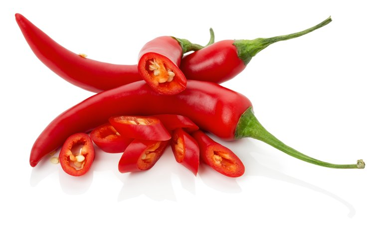 Red hot chilli from the garden 500gr