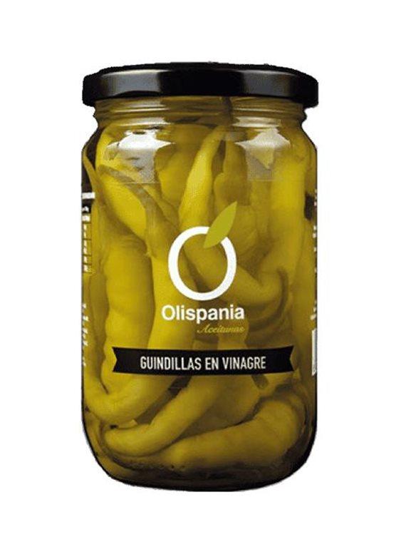 Olispania pickled chillies in vinegar