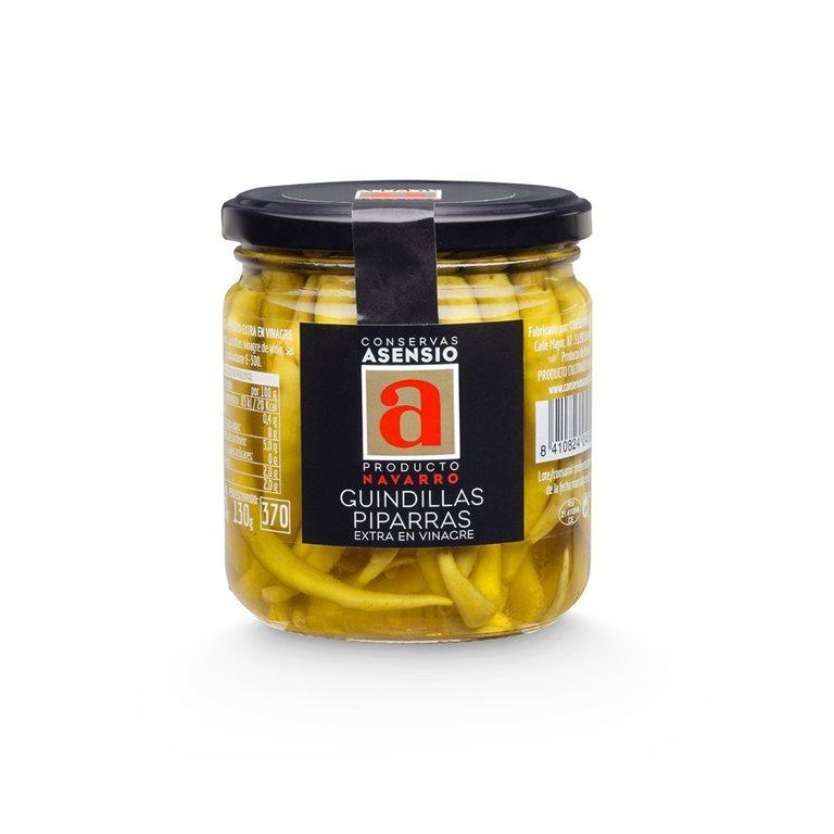 Guindillas-Piparras en vinagre 130 g ASENSIO