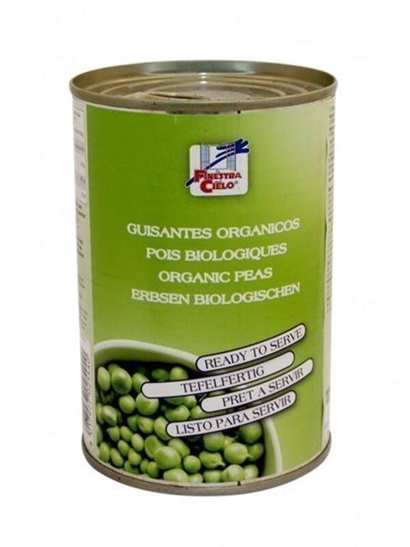 Guisantes en lata listas para comer, 500 gr
