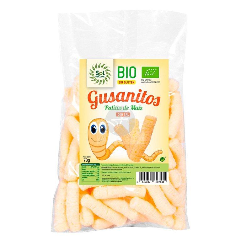 Gusanitos BIO, 70 gr