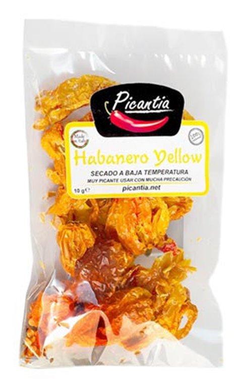 Habanero amarillo entero 10g, 1 ud