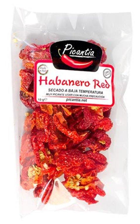 Habanero rojo entero 10g, 1 ud