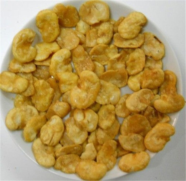 Habas fritas con sal, bolsa 150 gramos, 1 ud