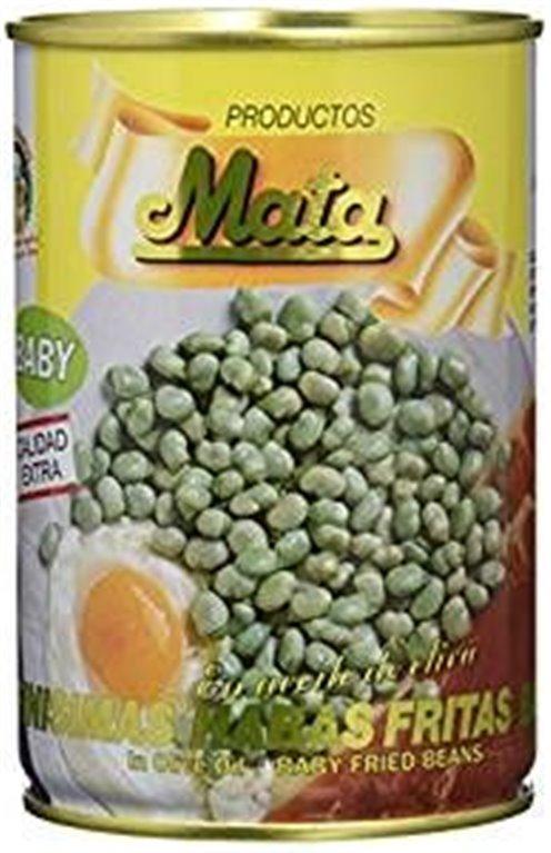 """Habas fritas en aceite de oliva """"Mata"""". Lata de 420 gr., 1 ud"""