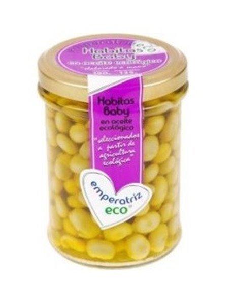 Habitas baby frasco en aceite de oliva