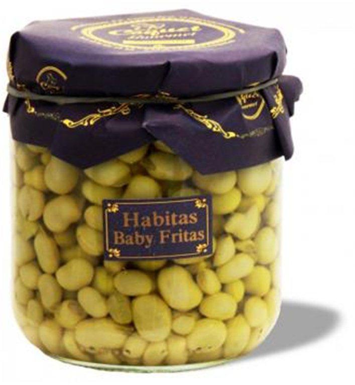 Habitas baby fritas, 345 gr