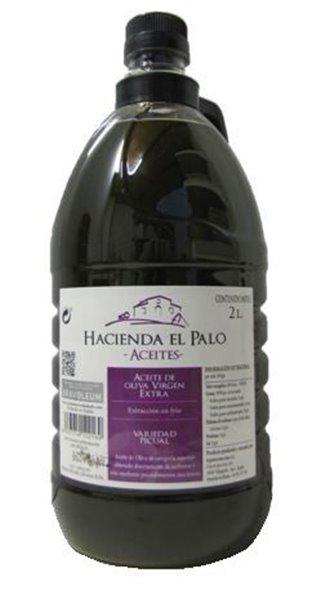 Hacienda el Palo AOVE Sin Filtrar. PET 2 litros.
