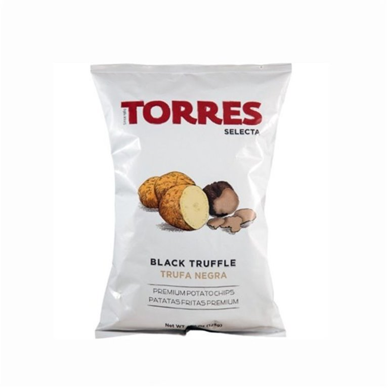 Patatas con Trufa Negra Torres Selecta 125 gr., 1 ud