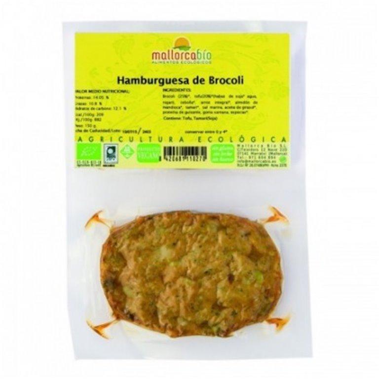 Hamburguesa Brocoli Sin Gluten, 1 ud