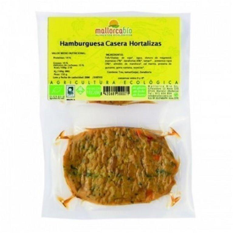 Hamburguesa Casera Hortalizas Sin Gluten, 1 ud