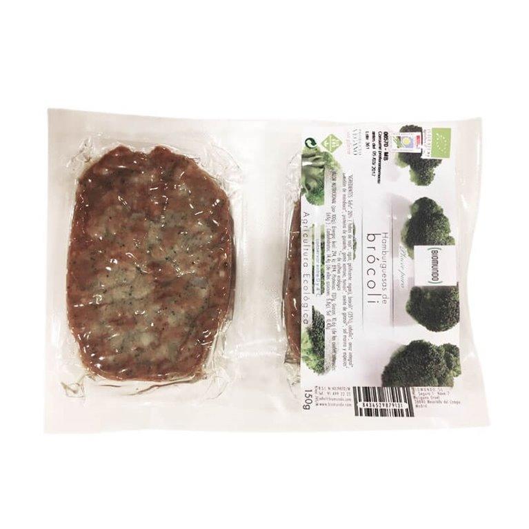 Hamburguesa de brocoli ( Sin Gluten ), 150 gr