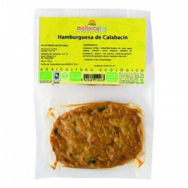Hamburguesa de calabacín sin gluten, 150 gr