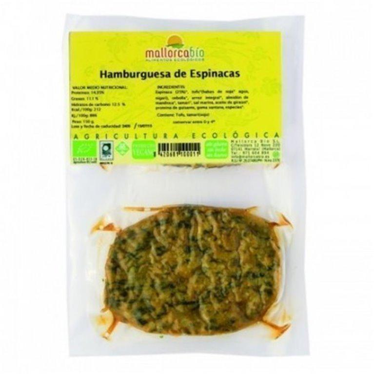 Hamburguesa Espinacas Sin Gluten