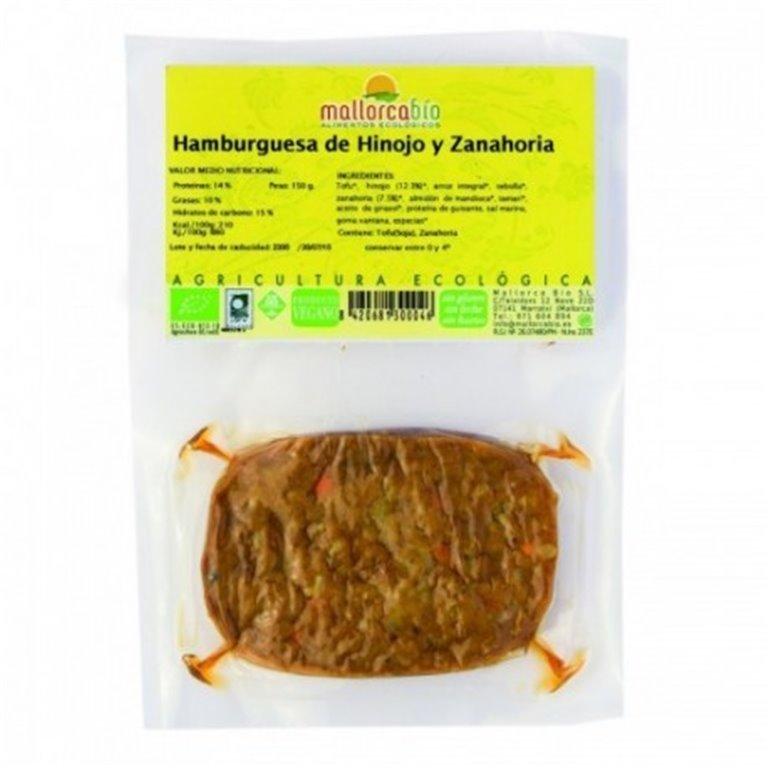 Hamburguesa Hinojo Y Zanahoria Sin Gluten, 1 ud