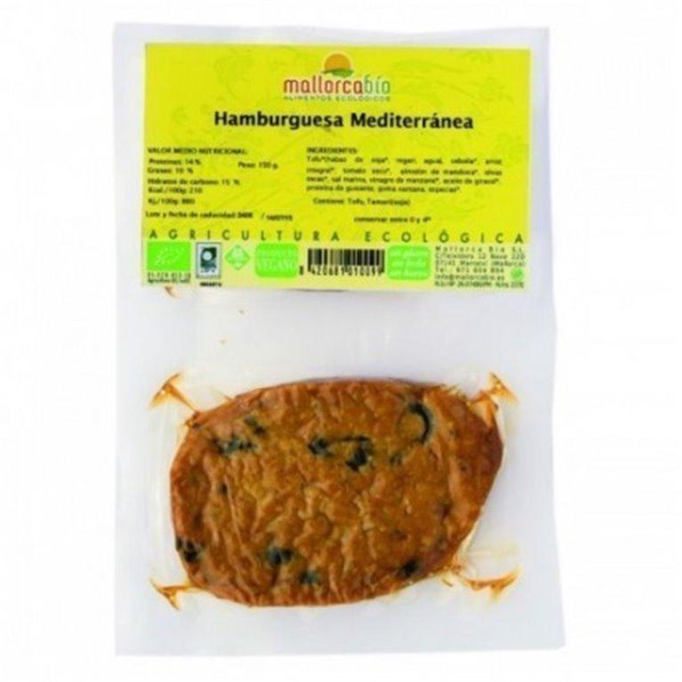 Hamburguesa Mediterranea Sin Gluten, 1 ud