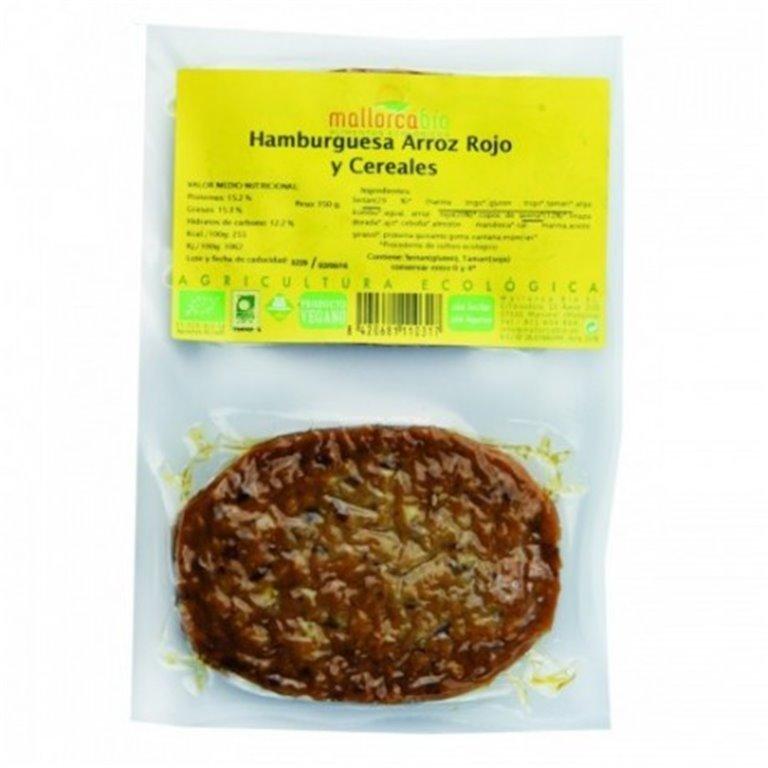 Hamburguesa Seitan Arroz Rojo Cereales, 1 ud