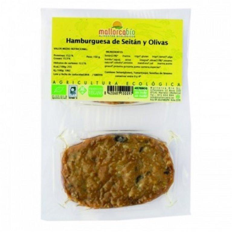 Hamburguesa Seitan Y Aceitunas, 1 ud