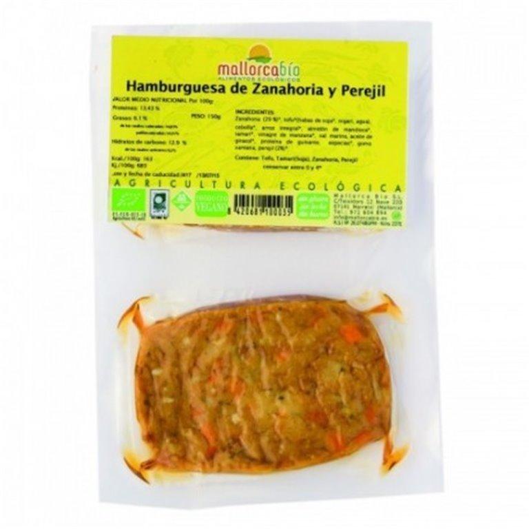 Hamburguesa Zanahoria Y Perejil Sin Gluten, 1 ud