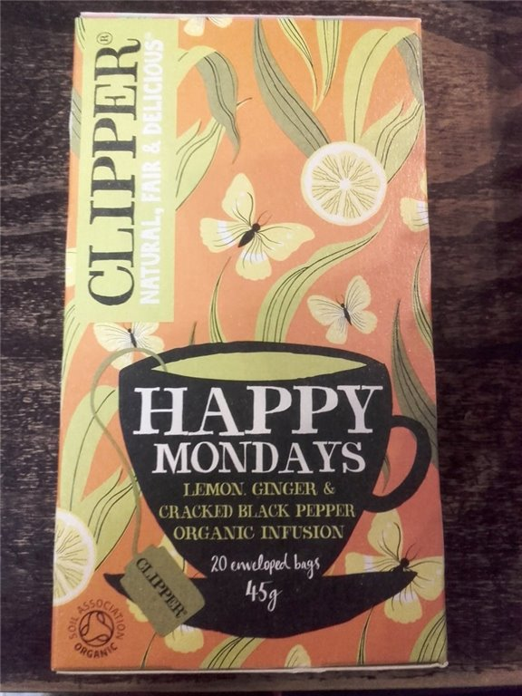 Happy Mondays Clipper 20 bolsas