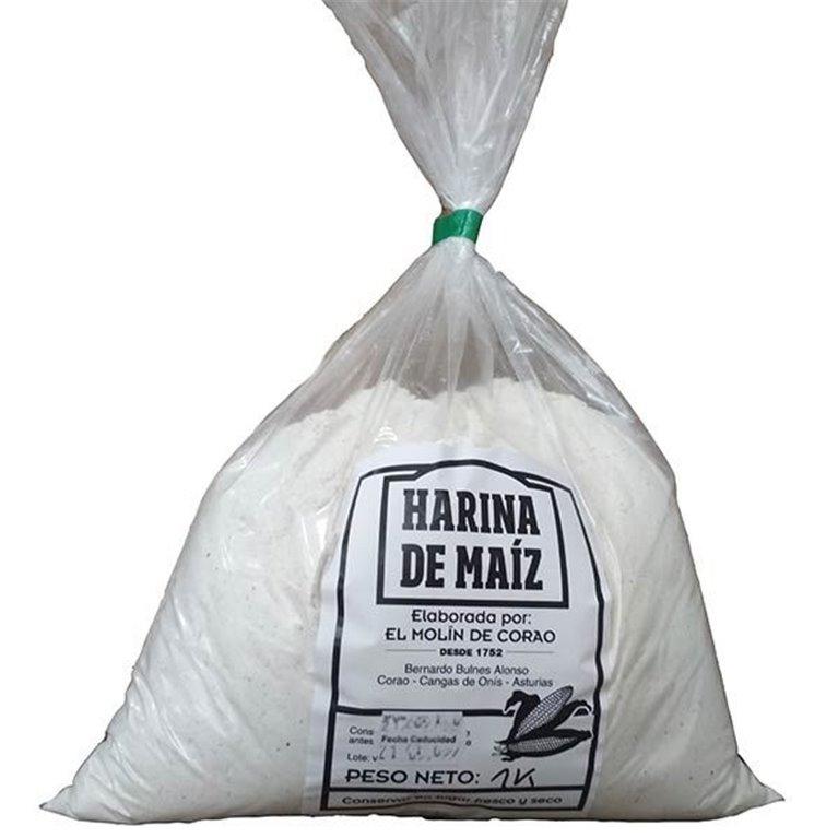 Harina Blanca Maiz - Molin Corao