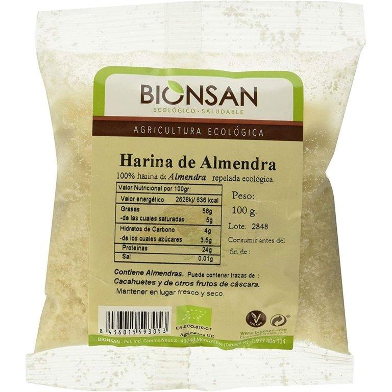 Harina de almendra ecológica -100gr