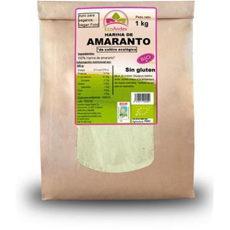 Harina de Amaranto Bio 25kg, 1 ud