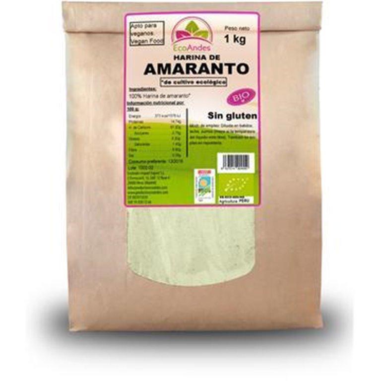 Harina de Amaranto Bio 5kg, 1 ud