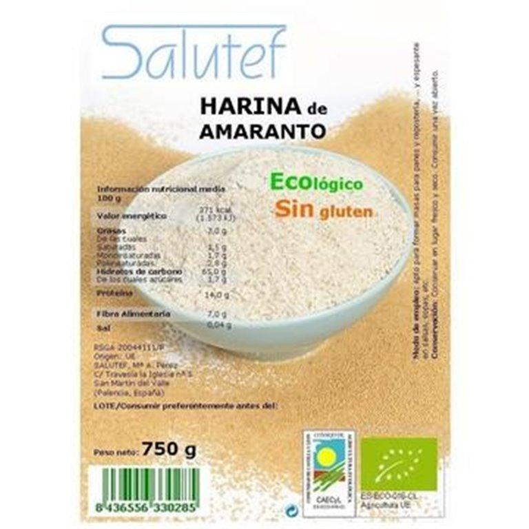 Harina de Amaranto Bio 750g, 1 ud