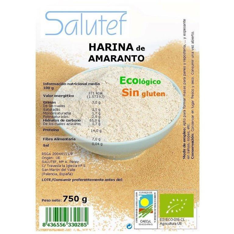 Harina de Amaranto Bio 750g