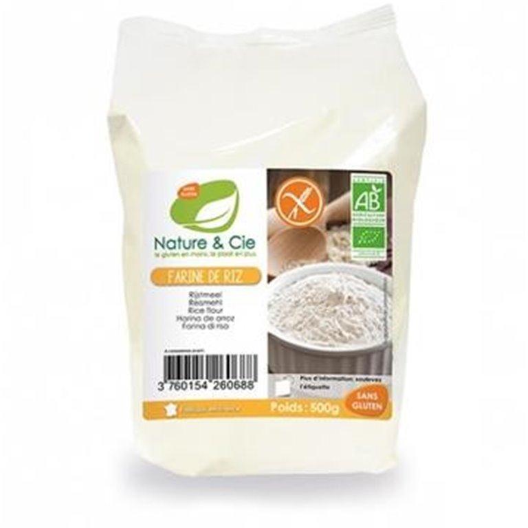 Harina de Arroz Blanco Bio 500g