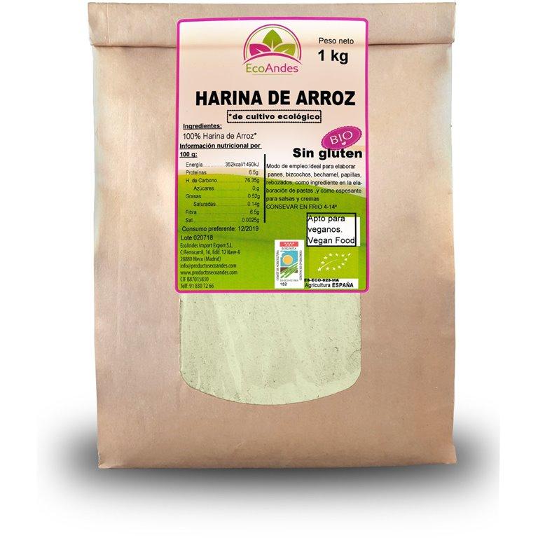 Harina de Arroz Integral Bio 5kg, 1 ud