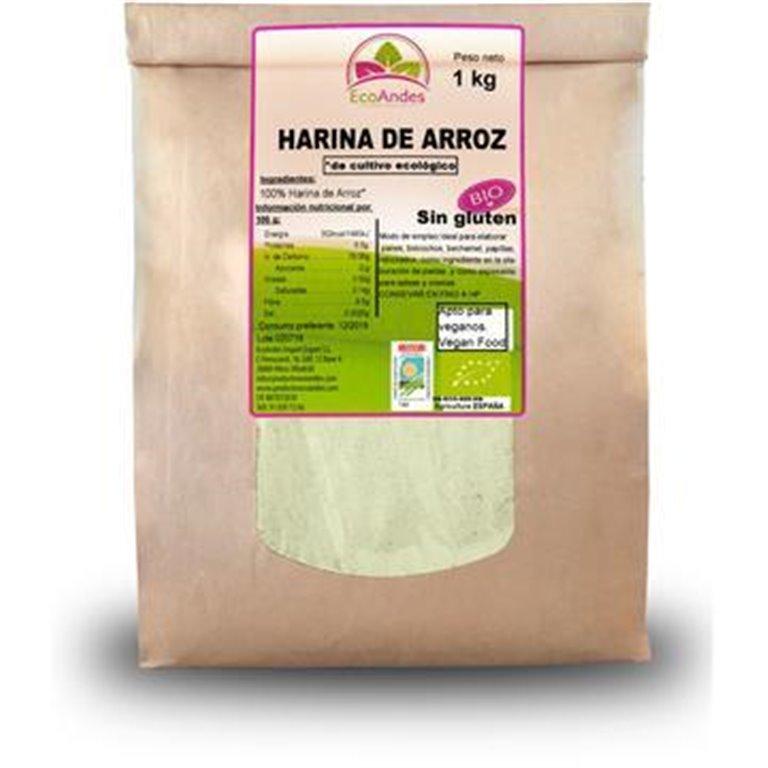 Harina de Arroz Integral Bio 25kg, 1 ud