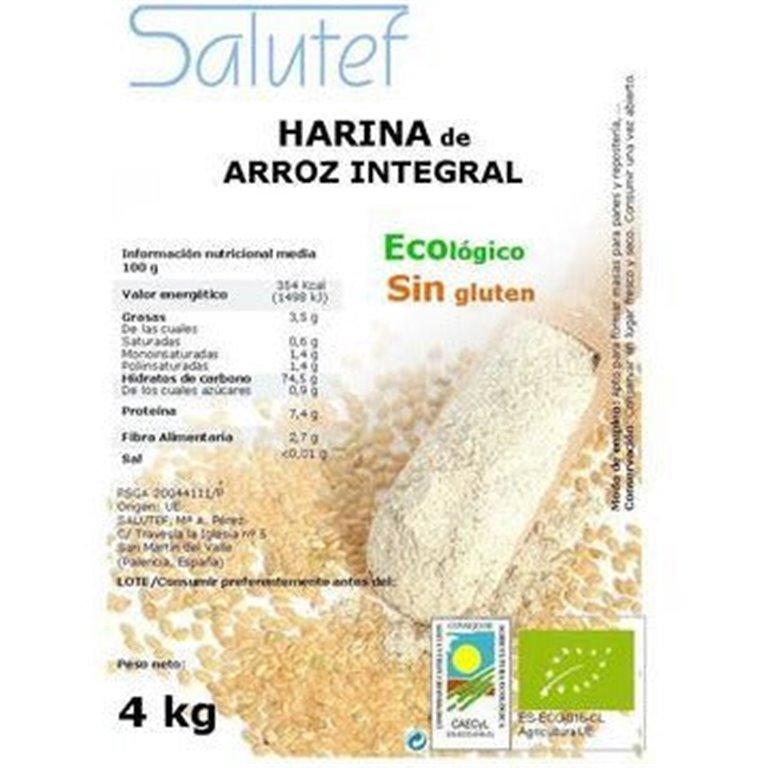 Harina de Arroz Integral Bio 4kg