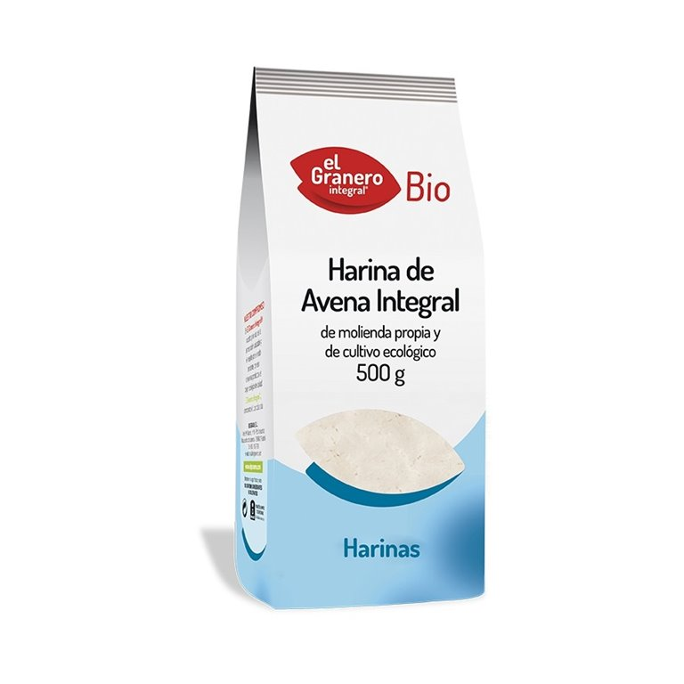Harina de Avena Integral Bio 500g