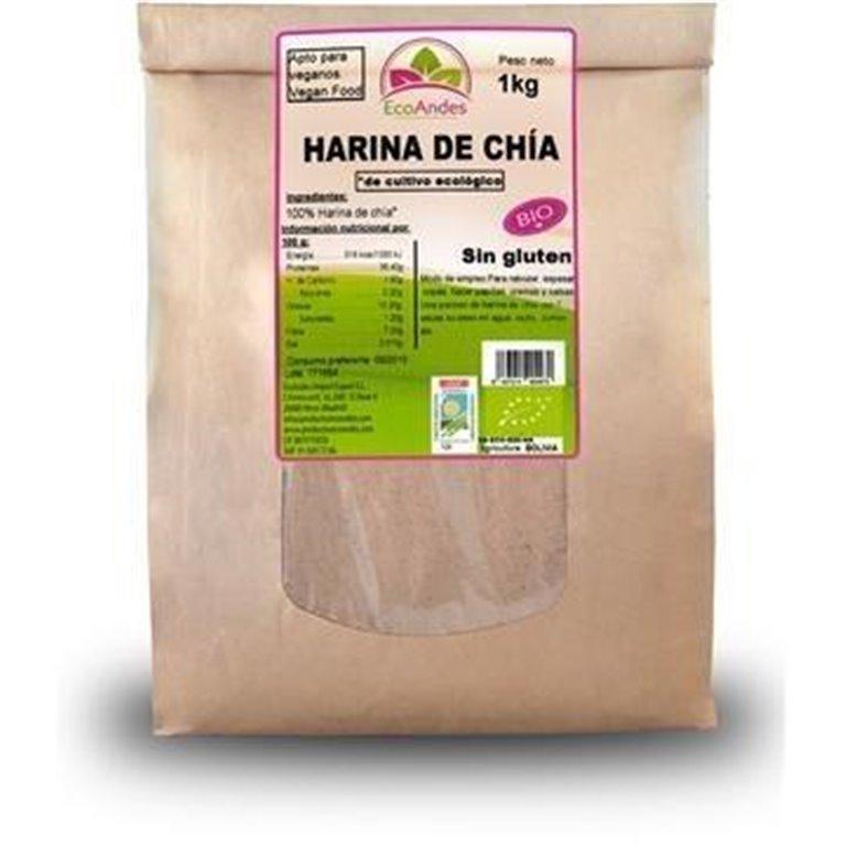 Harina de Chía Bio 10kg, 1 ud