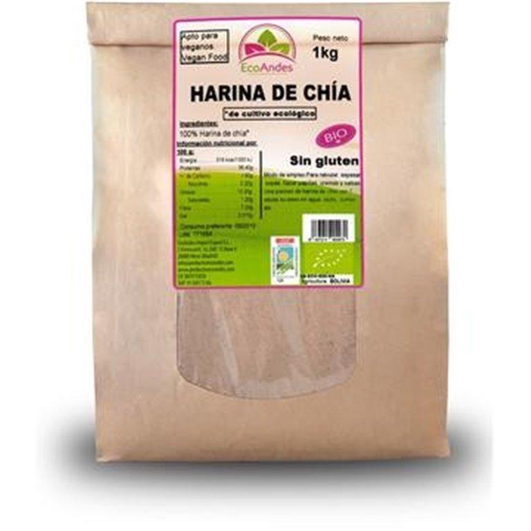 Harina de Chía Bio 400g, 1 ud