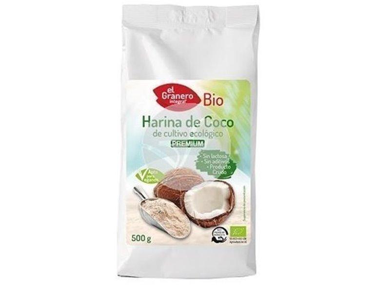 Harina de coco ecológico 500g, 1 ud