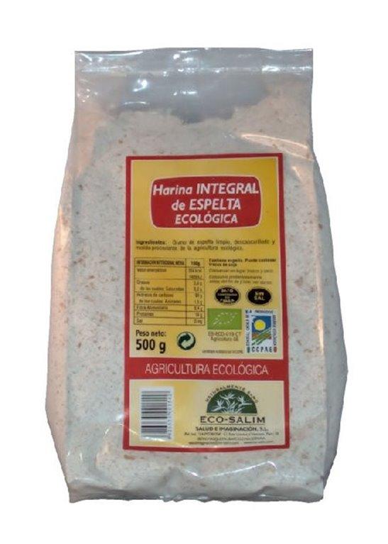 Harina de Espelta Integral Bio 500g, 1 ud