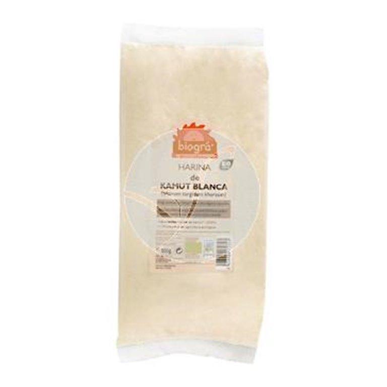 Harina de Kamut blanca ecológica 500g, 1 ud