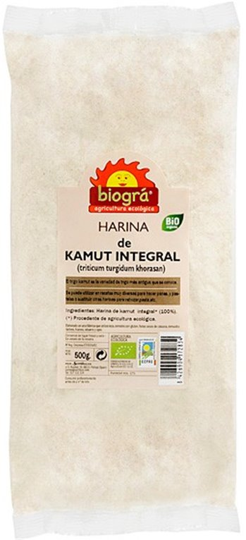 Harina de TRIGO khorasan KAMUT® Integral Bio 500g, 1 ud