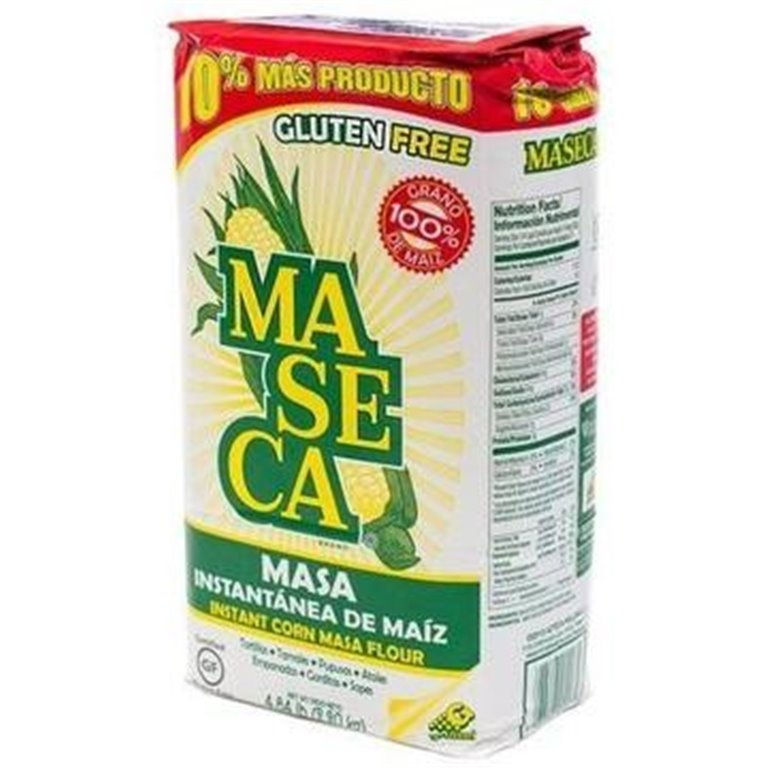 Harina de Maíz para Tortillas y Empanadas (Maseca) 1kg