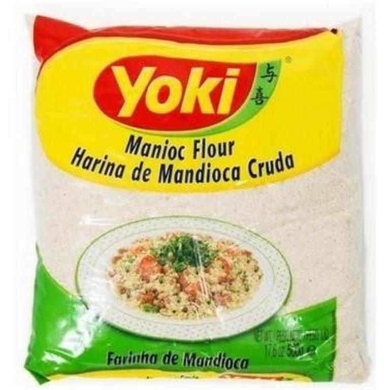 Harina de Mandioca Cruda 500g, 1 ud